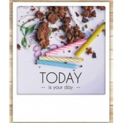 Carte Anniversaire Today is your Day- Pickmotion