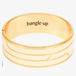 Bracelet Gaya blanc sable - Bangle-up
