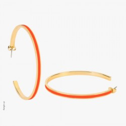 Maxi Créoles Tangerine - Bangle-Up