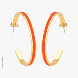 Créoles Tangerine - Bangle-Up
