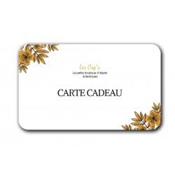 Carte Cadeau 80 €