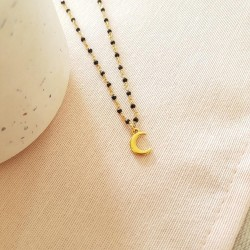 Collier Lune Spinelle