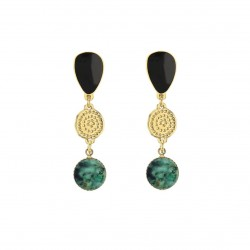 Boucles Galet Trio - Origines