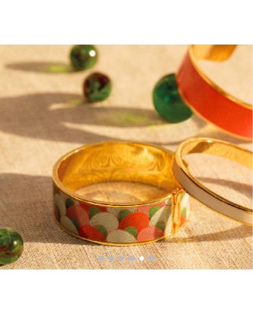 Bracelet Kango - Tangerine