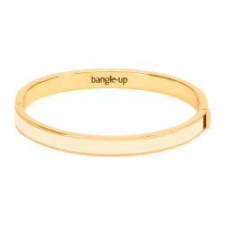 Bracelet Bangle - Blanc sable