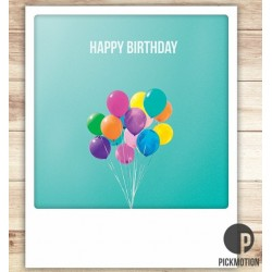 "Carte ""Happy Birthday"" - Pickmotion"