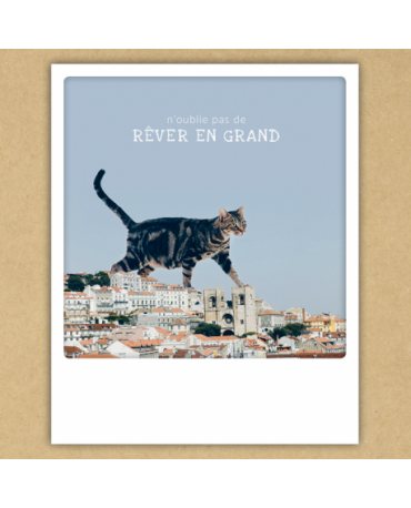 "Carte ""Animaux Rêver en grand"" - Pickmotion"